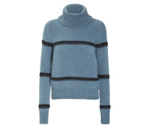 STRIPE ASIDE pullover turtleneck 1/1