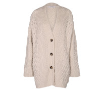 POWERFUL EASE coat v-neck 1/1