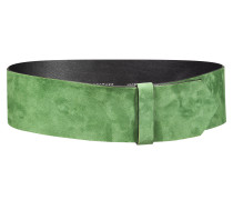 SUEDE SENSATION wide suede waist belt, 7,2 cm