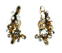 CRYSTAL EDGE ear cuffs small