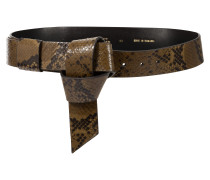 EXOTIC ALLURE knotted belt, 4 cm
