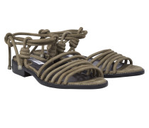SUBTLE ELEGANCE leather cord sandal