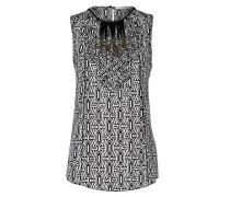 GEOMETRIC TRIBE blouse sl.less