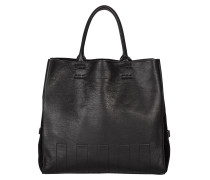 SOFT ATTITUDE bonded leather and neoprene tote bag