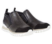 SPORTS CHIC textured sneaker