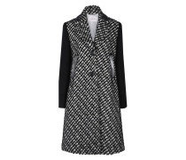 GRAPHIC HARMONY coat with knit sleeves 1/1