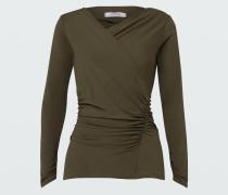 FASCINATING DRAPES shirt v-neck /