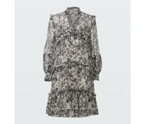 SHIMMERING FLOWER dress