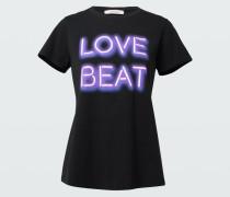NEON LOVE BEAT shirt o-neck /4
