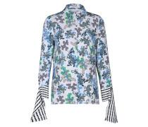 GEOMETRIC MERGE blouse cropped sleeve 1/1