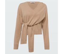 DECONSTRUCTED LOOK pullover v-neck /