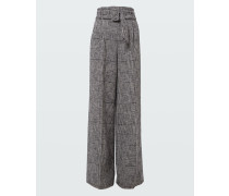 CHECKED COMFORT pants