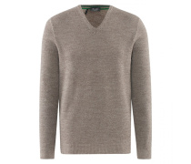 Herren Pullover V-Ausschnitt, Merinowolle Superwash