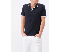 Herren Strick-Poloshirt