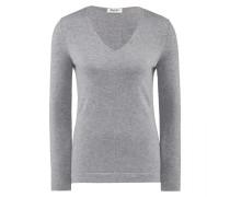 Damen Pullover V-Ausschnitt, Cashmere