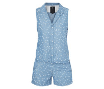 Playsuit in Denimoptik