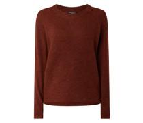 Pullover mit Alpaka-Anteil Modell 'Lulu'