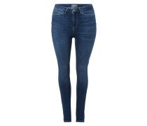 PLUS SIZE - Stone Washed Shaping Fit Jeans