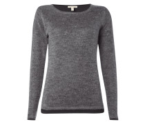 2-in-1-Pullover mit Mohair-Anteil