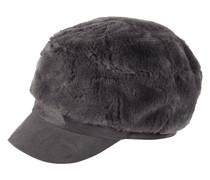 Baker Boy Hat aus Kunstfell