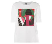 PLUS SIZE - Shirt mit Message-Print