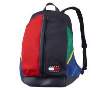 Rucksack im mehrfarbigen Design