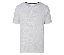 T-Shirt mit feinem Streifenmuster