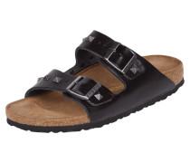 Sandalen aus echtem Leder mit Nietenbesatz