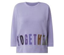 Sweatshirt aus Baumwollmischung