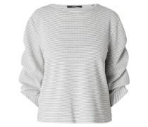 Sweatshirt mit Raffungen