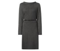 Kleid mit Rautenmuster