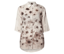PLUS SIZE - Bluse mit floralem Muster