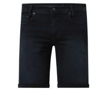 Jeansshorts mit Stretch-Anteil Modell 'Arne'