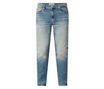Slim Tapered Fit Jeans mit Stretch-Anteil Modell 'CKJ 058'