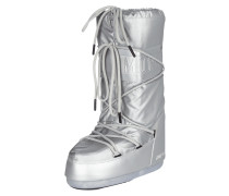 Moonboots in Metallicoptik - wasserdicht