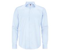 Slim Fit Business Hemd mit Haifischkragen