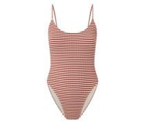 Badeanzug mit Streifenmuster Modell 'Ribbi'