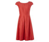 Kleid mit Kellerfalten und Kappärmeln