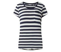 T-Shirt mit Streifenmuster Modell 'Nubowie'