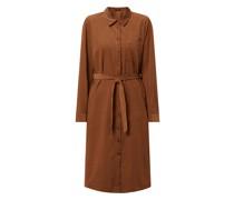 Kleid aus Cord Modell 'Wurale'