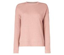 Sweatshirt mit Glitter-Effekt