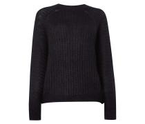 Oversized Pullover aus Mohair-Seide-Mix