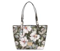 Shopper mit floralem Muster