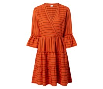 Kleid mit Volantärmeln Modell 'Etna'