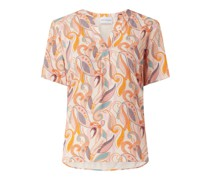 Blusenshirt mit Paisley-Muster