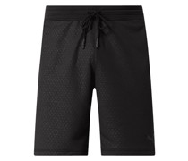 Sweatshorts mit Allover-Muster - dryCELL