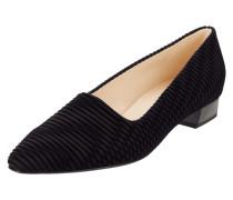 Loafer mit Muster aus Samt