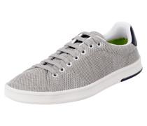 Sneaker aus Textil in Strickoptik