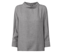 Blusenshirt mit Umlegekragen Modell 'Folani'