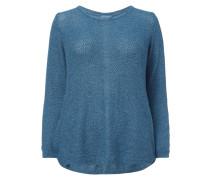 PLUS SIZE - Pullover mit Zierknöpfen